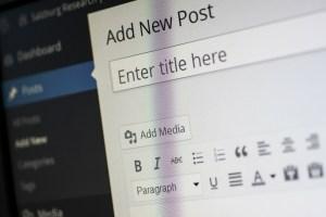 blogger schrijft