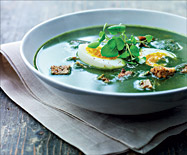 The New Nordic Cuisine keeps an ancient tradition: nettle soup.http://www.ingebretsens.com/the-nordic-diet.html