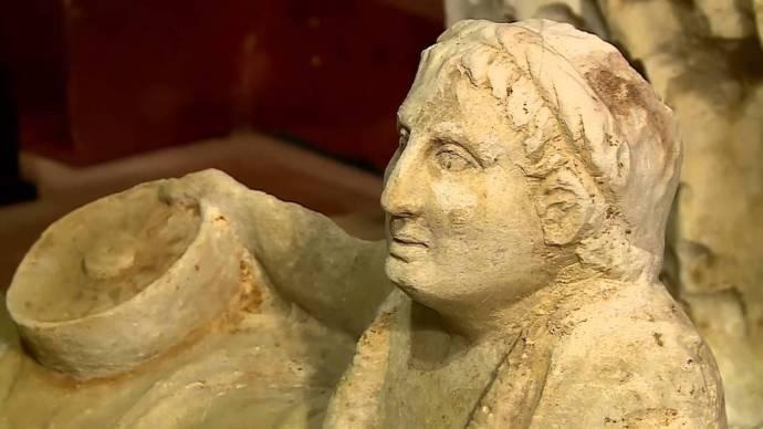 tomba etrusca a città della Pieve