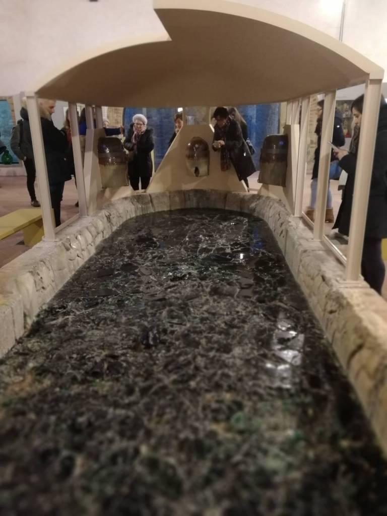 Museo del vetro: fiaschi