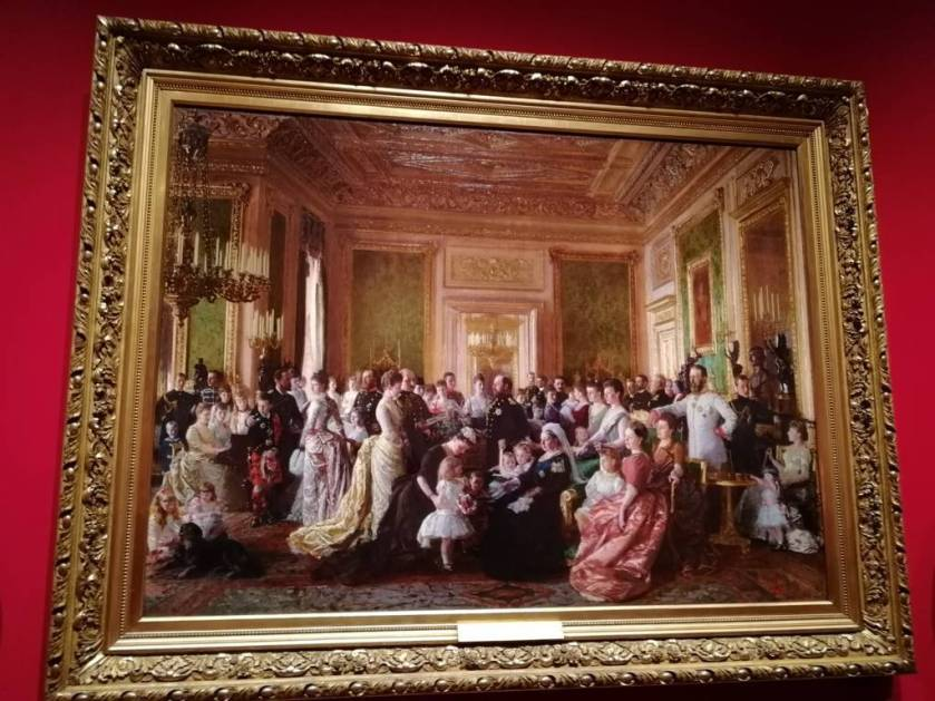 Famiglia Regina Vittoria