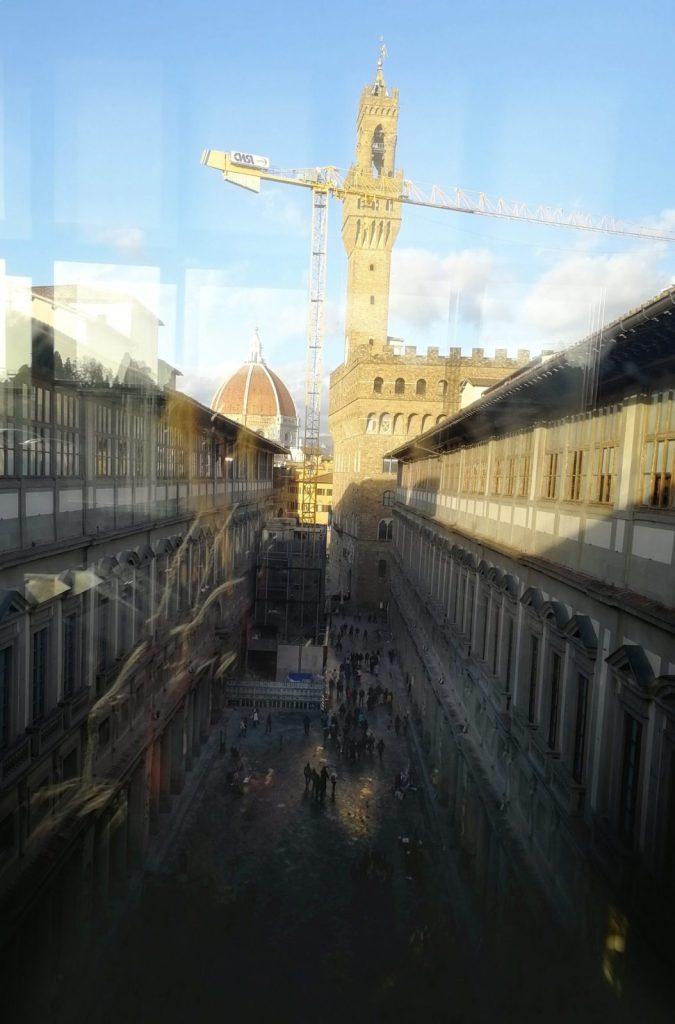 Palazzo Vecchio dagli Uffizi con Musement