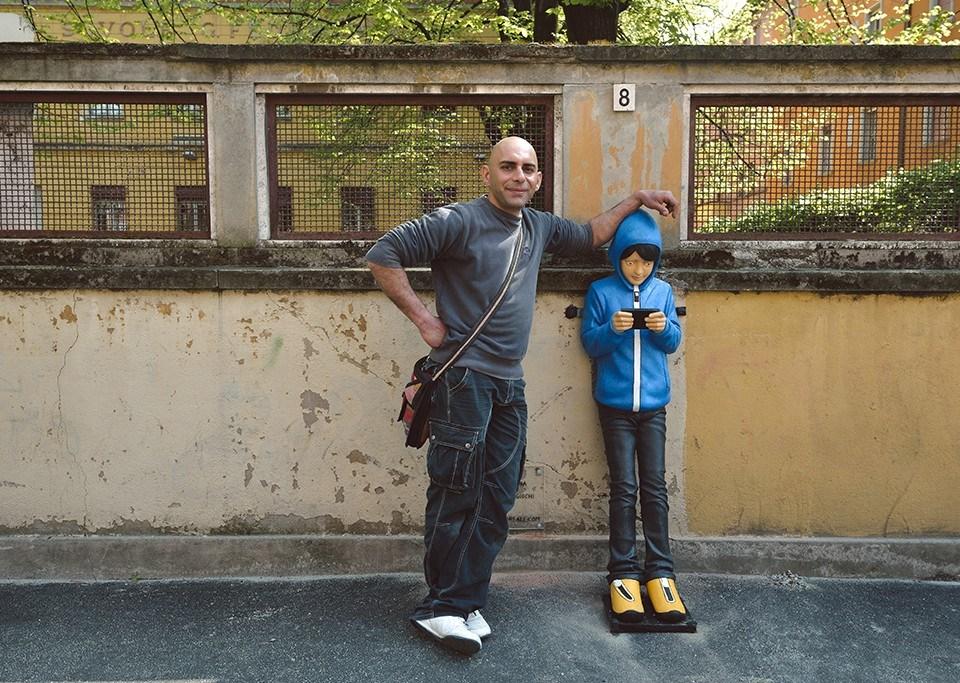 Giovanni da Monreale con bambino