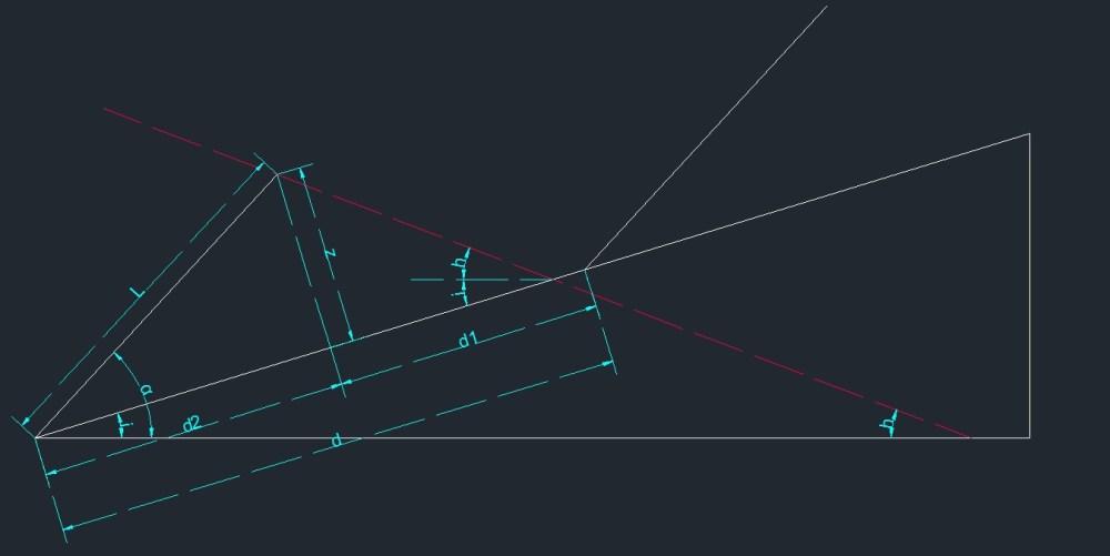 Cálculo de la distancia mínima entre placas solares (3/6)