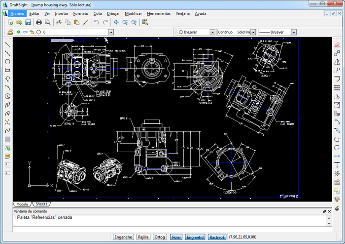 Programas de diseño y modelado gratuitos. Descarga software CAD gratuitos. Alternativas a AutoCAD. (4/5)