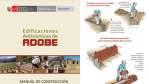 Manual de Construcción de edificaciones Antisísmicas de Adobe
