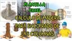 Cálculo de encofrado de columnas (Cantidad de Madera)