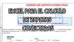 HOJA DE EXCEL PARA EL CALCULO DE ZAPATAS CONECTADAS
