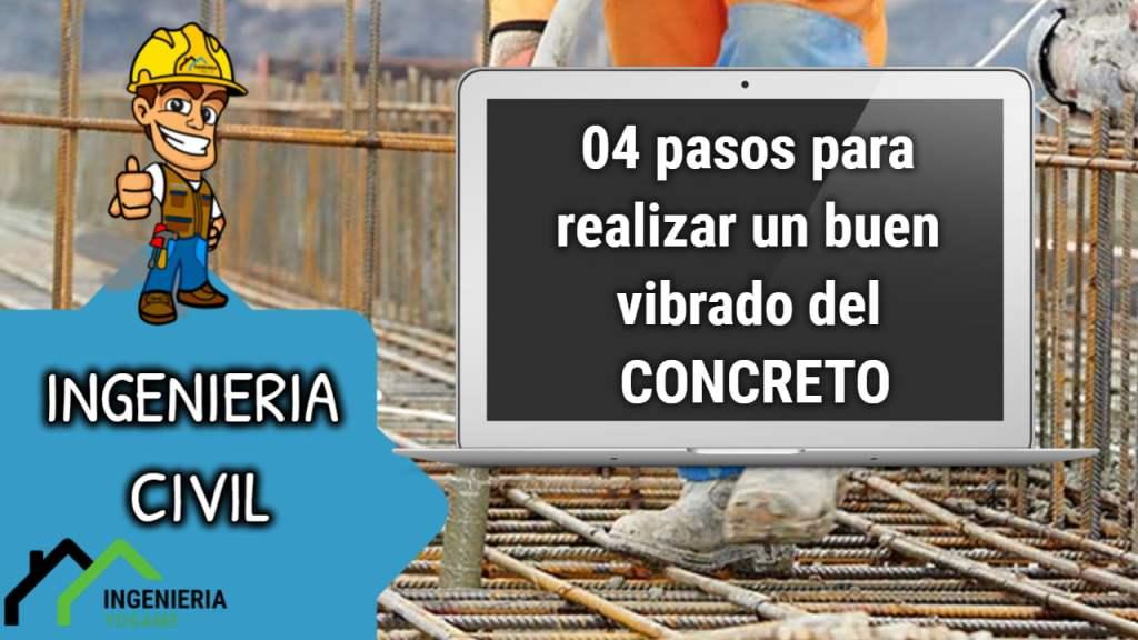 vibrado del concreto
