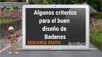 Algunos criterios para el buen diseño de Badenes