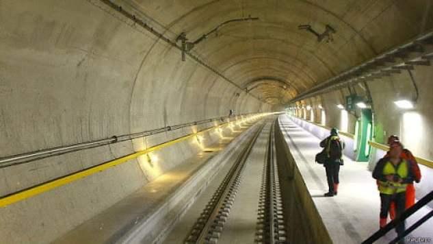 Tunel San Gotardo, obras que han impactado a todo el mundo