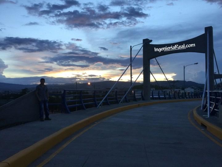 Ciempiés estrena puente en Altos del Trapiche (1)