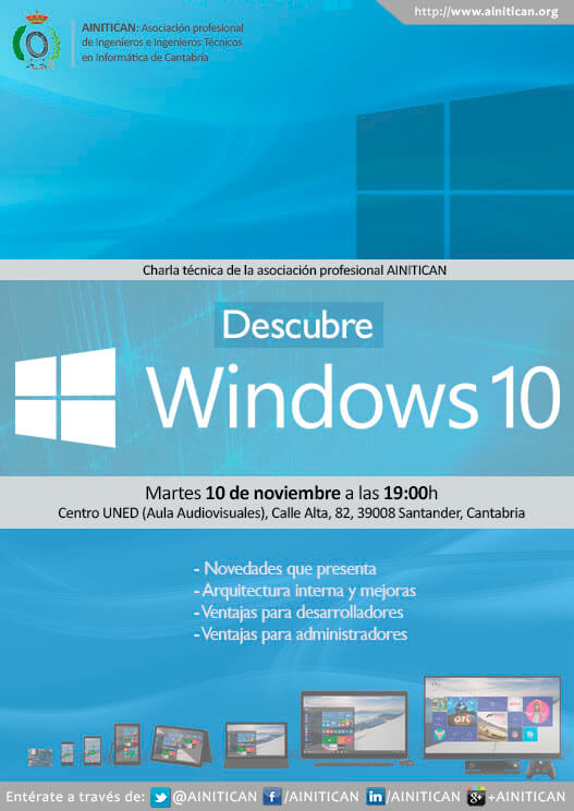 Cartel ponencia Windows 10