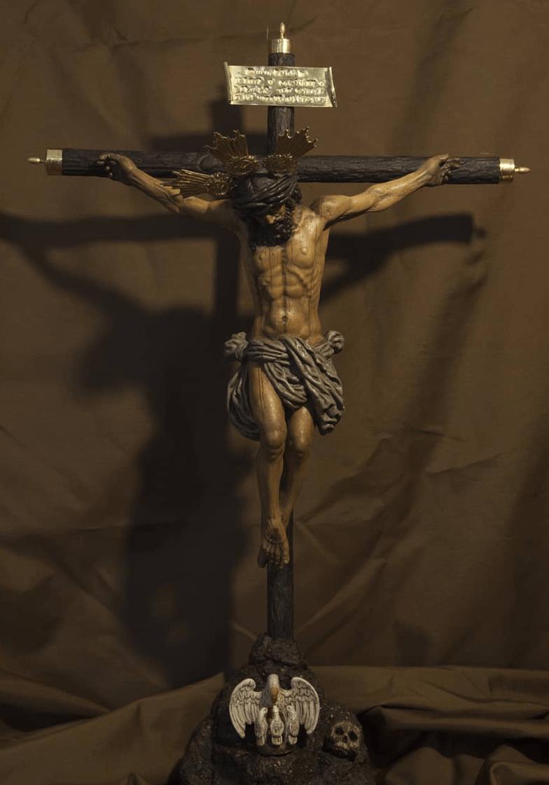 Cristo de la Oración en el Huerto de la Hermandad de VeraCruz y Oración de Huelva