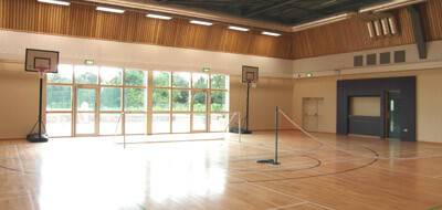 leisure centre sports court