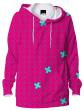 PinkRedBlueCrosses (PRBC) hoodie.