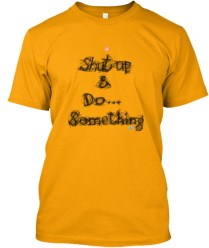 Shut Up and Do... Something BLK