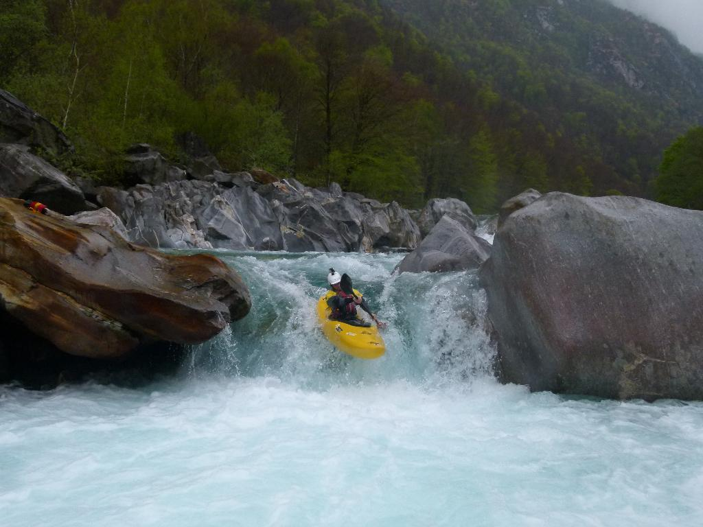 ''Boof'' on the Verzasca