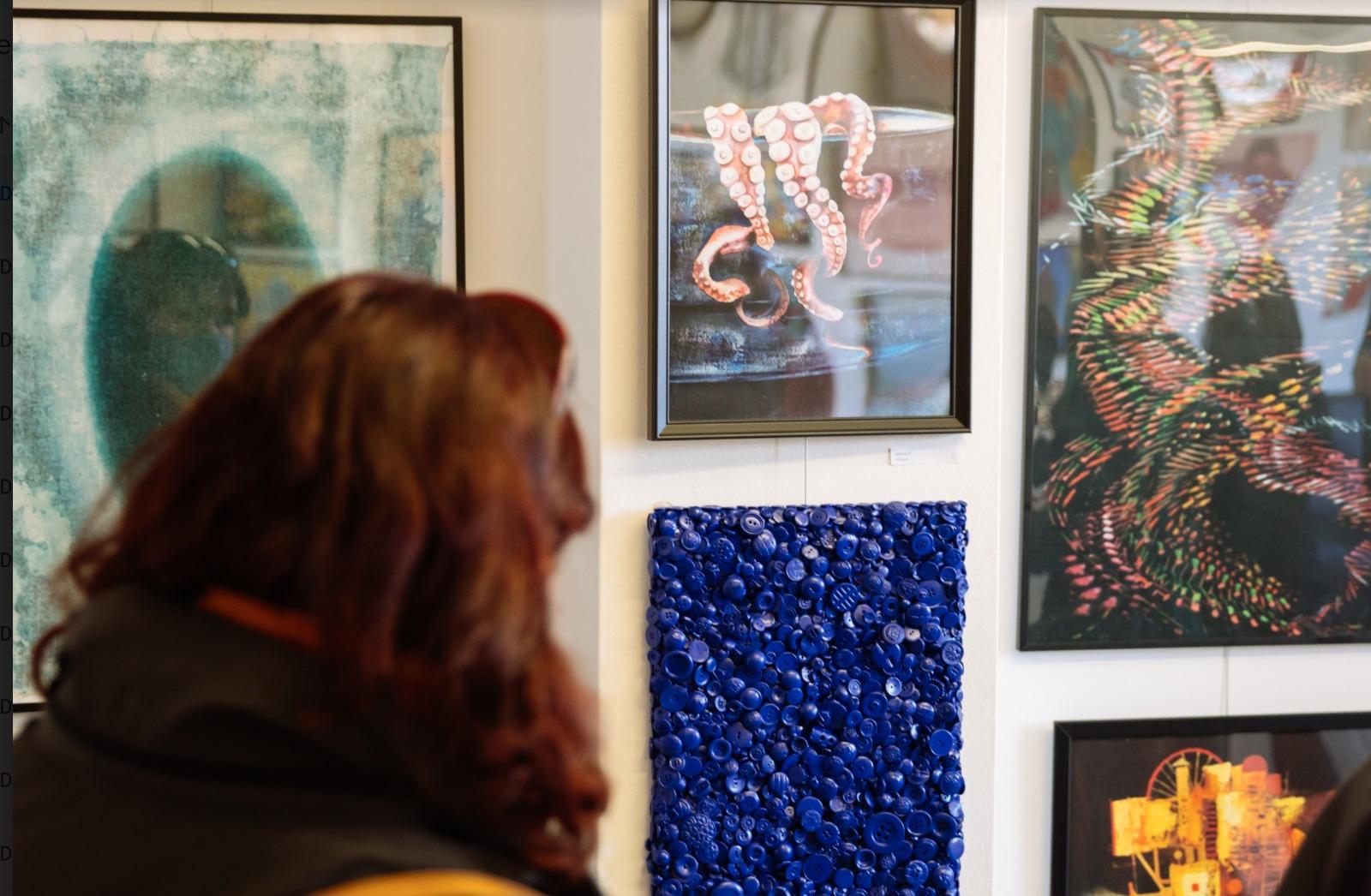Kunstenaar Inge Prins van Wijngaarden Boomer Gallery Londen