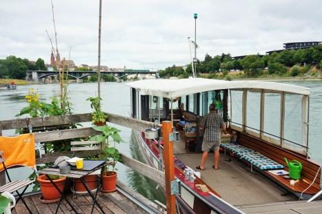 Basel Rhine ferry
