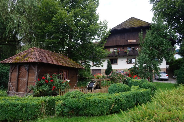 Black Forest farm in Zell am Harmarsbach