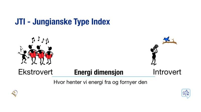 JTI, ekstrovert, introvert, jungiansk type indeks