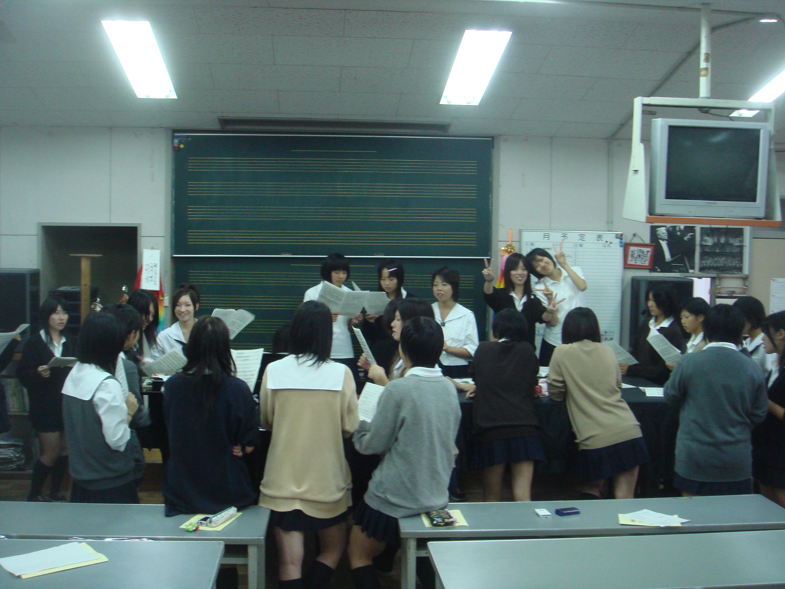 preparazione per il coro