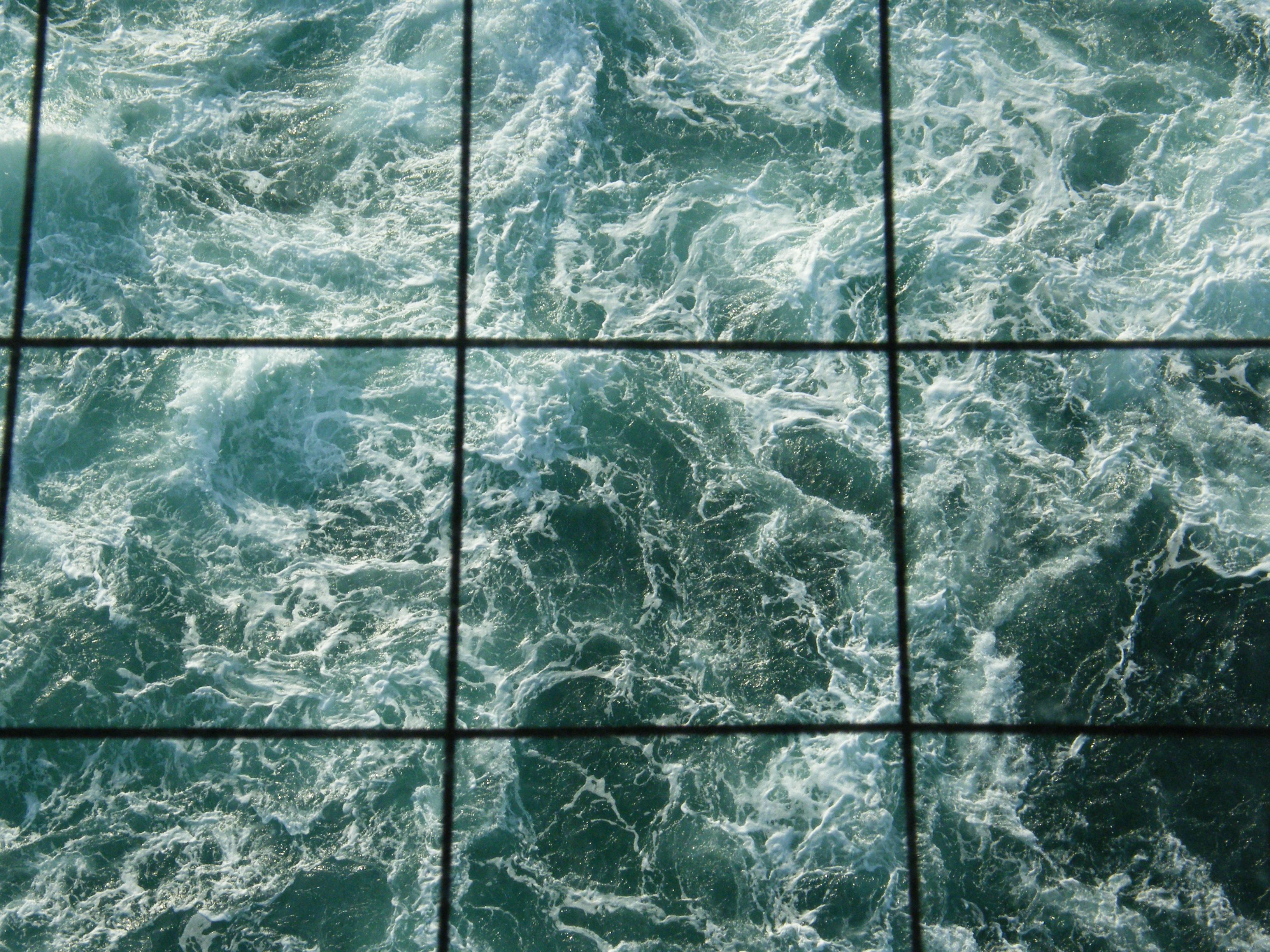 le tempestose acque dello stretto...