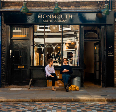 Monmouth Coffee Covent Garden kahve Londra