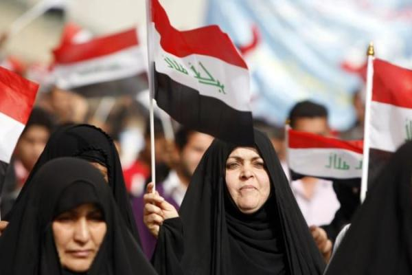 Irak işgal kadınlar Iraklı istila savaş ABD