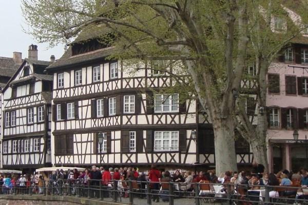 Strasbourg kanal Strazburg