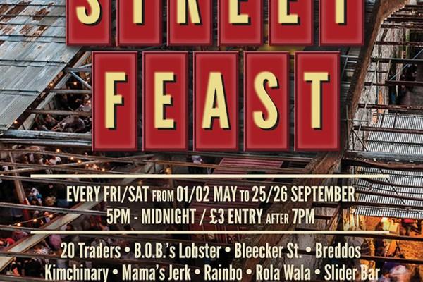 Street Feast 2015 Dalston Yard Londra sokak ziyafet mutfağı yemek