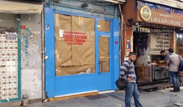 kaymakçı Beşiktaş kahvaltıcı Pando İstanbul yemek kahvaltı salonu kafe