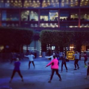 Pound spor egzersiz fitness Londra