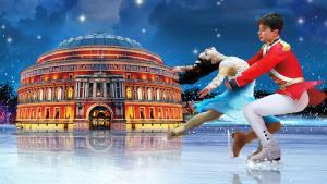 The Nutcracker on Ice Royal Albert Hall gösteri dans şov performans buz pateni Fındıkkıran London Londra Noel Christmas Xmas yılbaşı yeni yıl afiş poster