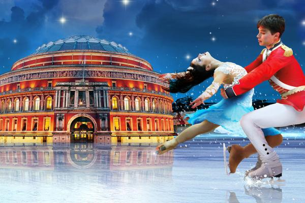 The Nutcracker on Ice Royal Albert Hall gösteri dans şov performans buz pateni Fındıkkıran London Londra Noel Christmas Xmas yılbaşı yeni yıl afiş poster