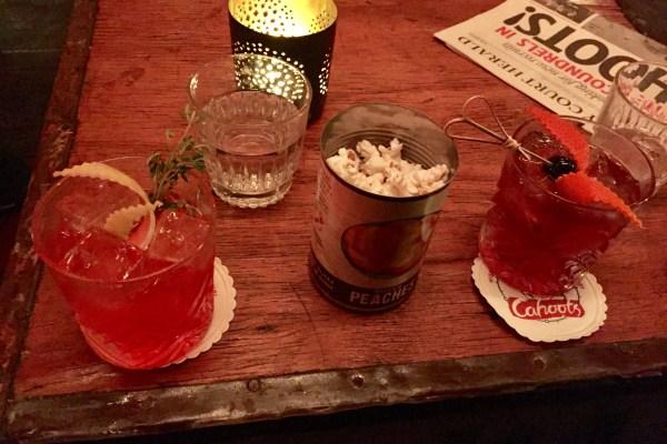 Negroni @ Cahoots bar