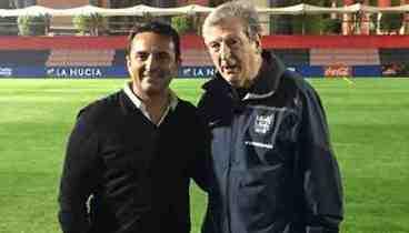La selección inglesa de fútbol entrena en La Nucía