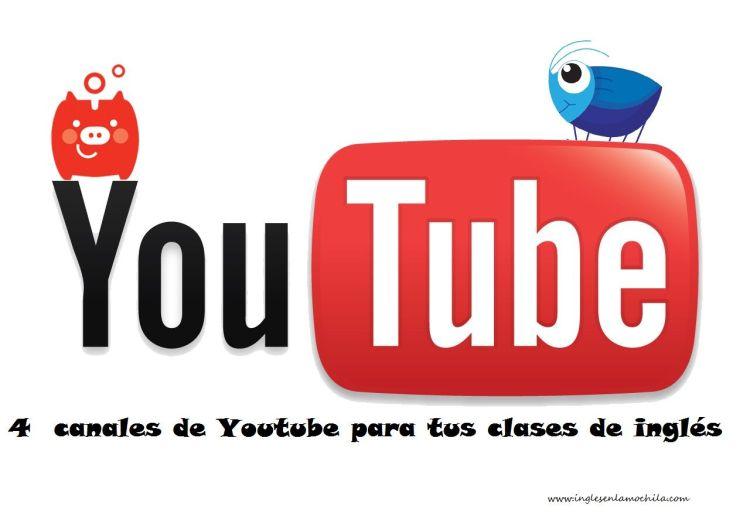 4 Canales de youtube para la clase de inglés