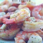 Lista de Frutos do Mar em Inglês
