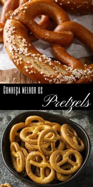 Conheça melhor os Pretzels   Inglês Gourmet