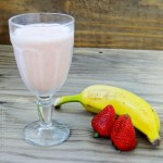 Receita de Strawberry-Banana Smoothie