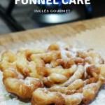 Como é o Funnel Cake