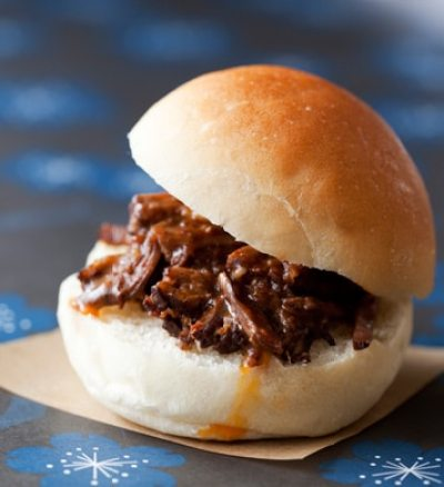 pulled brisket sliders epicurious