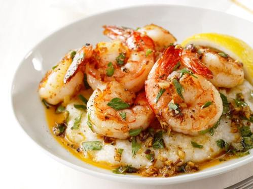 shrimp and grits food network