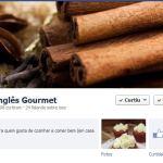 Como receber todas a postagens do Inglês Gourmet no Facebook