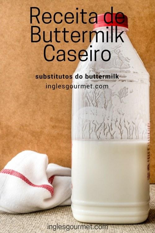 Substitutos do Buttermilk | Buttermilk Caseiro | Inglês Gourmet