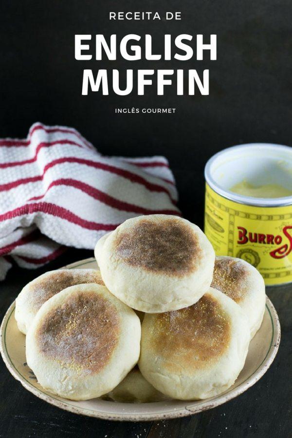 Receita de English Muffin | Inglês Gourmet