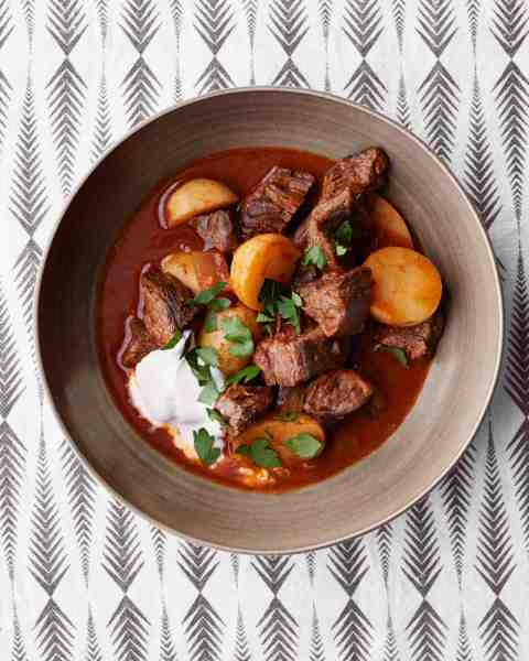 Goulash com skirt steak
