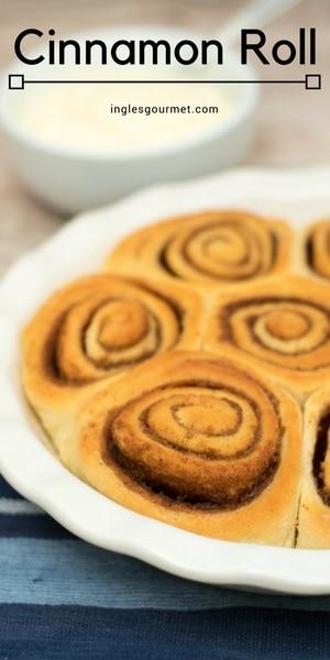 Receita de Cinnamon Roll | Inglês Gourmet